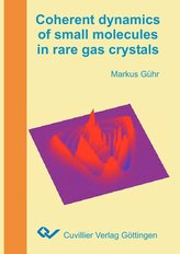 Coherent dynamics of small molecules in rare gas crystals
