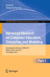Advanced Research on Computer Education, Simulation and Modeling