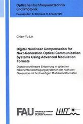 Digital Nonlinear Compensation for Next-Generation Optical Communication Systems Using Advanced Modulation Formats