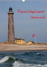 Familienplaner Dänemark (Wandkalender 2020 DIN A3 hoch)