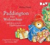 Paddington feiert Weihnachten und drei weitere Hörbuchabenteuer