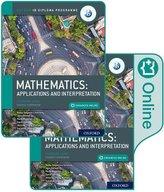 Oxford IB Diploma Programme: IB Mathematics: applications and interpretation, Standard Level, Print and Enhanced Online Course B