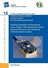Flexible Generation of Picosecond Laser Pulses in the Infrared and Green Spectral Range by Gain-Switching of Semiconductor Laser
