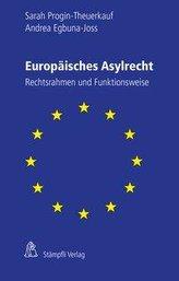 Europäisches Asylrecht