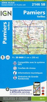 Pamiers-Varilhes 1:25 000