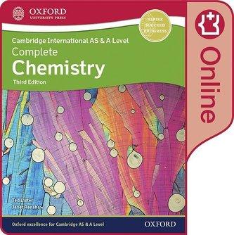 Cambridge International AS & A Level Complete Chemistry Enhanced Online Student Book. Digital Licence Key
