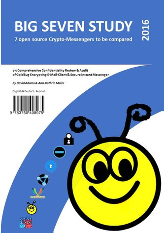 Big Seven Study (2016): 7 open source Crypto-Messengers to be compared (English/Deutsch)