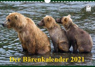 Der Bärenkalender 2021 (Wandkalender 2021 DIN A4 quer)