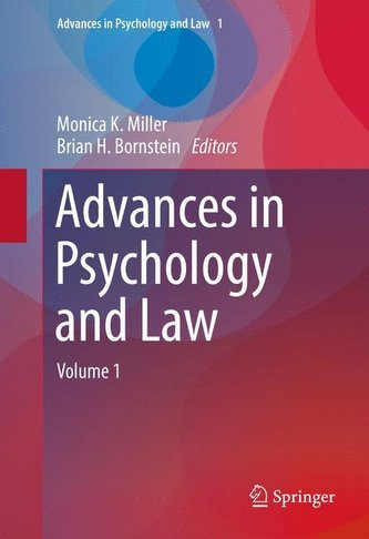 Advances in Psychology and Law 01