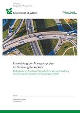 Entwicklung der Transportpreise im Strassengüterverkehr