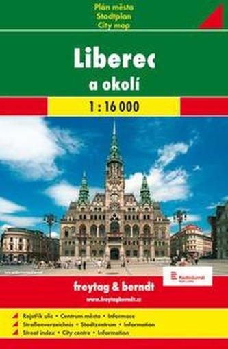 Liberec a okoli 1:16.000