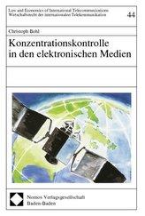 Konzentrationskontrolle in den elektronischen Medien