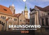 Braunschweig - Die Stadt zwischen Harz und Heide (Wandkalender 2020 DIN A4 quer)