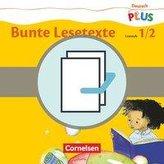 Deutsch plus - Grundschule - Bunte Lesetexte - Lesehefte Stufe 1 und 2 im Paket
