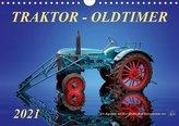 Traktor - OldtimerAT-Version  (Wandkalender 2021 DIN A4 quer)