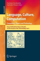 Language, Culture, Computation: Computing - Theory and Technology