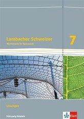 Lambacher Schweizer Mathematik 7. Ausgabe Schleswig-Holstein. Lösungen Klasse 7