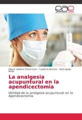 La analgesia acupuntural en la apendicectomia