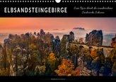 Elbsandsteingebirge - eine Reise durch die wunderschöne Sächsische Schweiz (Wandkalender 2021 DIN A3 quer)