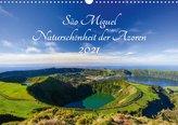 São Miguel - Naturschönheit der Azoren (Wandkalender 2021 DIN A3 quer)