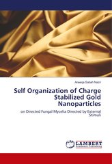 Self Organization of Charge Stabilized Gold Nanoparticles