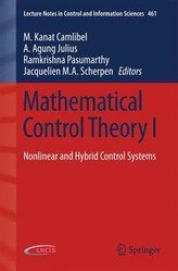 Mathematical Control Theory I