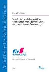 Typologie zum lebenszyklusorientierten Management unternehmensinterner Communitys