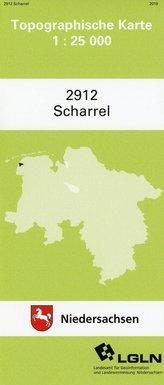 Scharrel 1 : 25 000. (TK 2912/N)