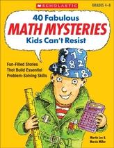 40 Fabulous Math Mysteries Kids Can\'t Resist