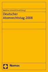 Deutscher Atomrechtstag 2008