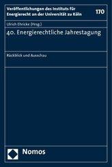 40. Energierechtliche Jahrestagung