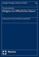 Religion im öffentlichen Raum