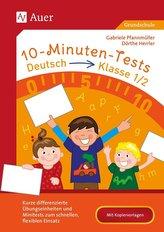 10-Minuten-Tests Deutsch - Klasse 1/2