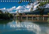 Bad Säckingen - Die Perle am Hochrhein (Tischkalender 2021 DIN A5 quer)