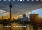 Düsseldorf - Impressionen (Wandkalender 2021 DIN A4 quer)