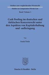 Cash Pooling im deutschen und türkischen Konzernrecht unter den Aspekten von Kapitalerhaltung und -aufbringung.