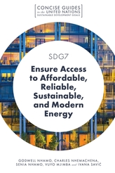 SDG7 - Ensure Access to Affordable, Reliable, Sustainable, and Modern Energy