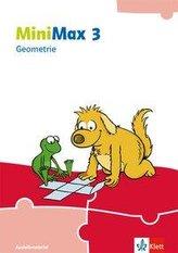 MiniMax 3. Themenheft Geometrie - Ausleihmaterial Klasse 3