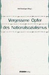 Vergessene Opfer des Nationalsozialismus