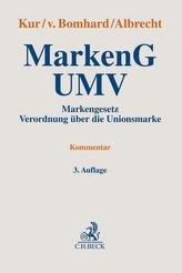 Markengesetz / Verordnung über die Unionsmarke