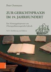 Zur Gerichtspraxis im 19. Jahrhundert