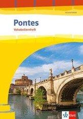 Pontes Gesamtband. Vokabellernheft mit Audiomaterial 1. - 3. Lernjahr bzw. 1. - 4. Lernjahr