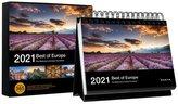 Tischkalender Best of Europe 2021
