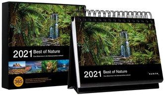 Tischkalender Best of Nature 2021
