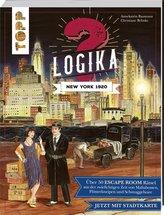 Logika - New York 1920: Logikrätsel für zwischendurch von leicht bis schwer