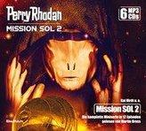Perry Rhodan Mission SOL 2 - Die komplette Miniserie (6 MP3-CDs)