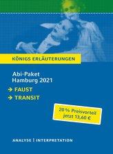 Abitur Deutsch Hamburg 2021 - Königs Erläuterungen-Paket