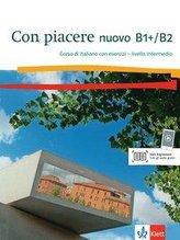 Con piacere nuovo B1+/B2. Corso di italiano con esercizi + audio online
