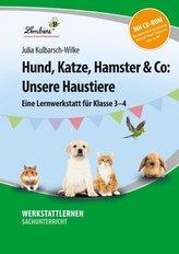 Hund, Katze, Hamster & Co: Unsere Haustiere (Set)