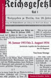 30. Januar 1933 bis 2. August 1934.
